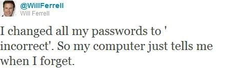 will ferrel password
