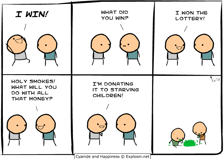 win - cyanide and happiness collection two