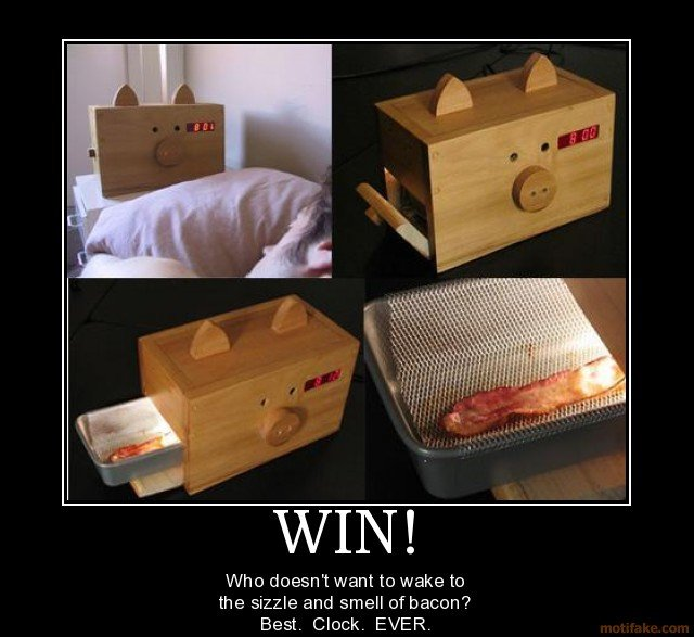 win but will burn hit snooze demotivational poster