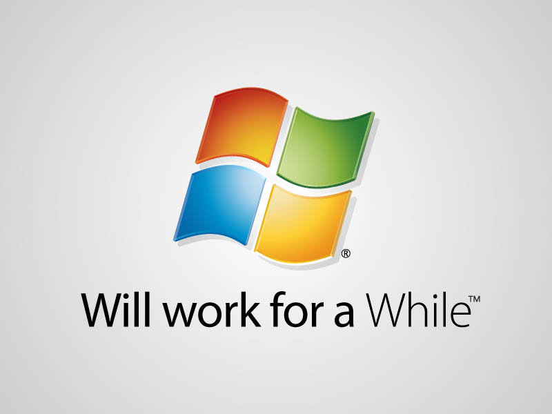 windows - if company logos would tell us truth