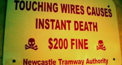 wires - lots of funny stuff