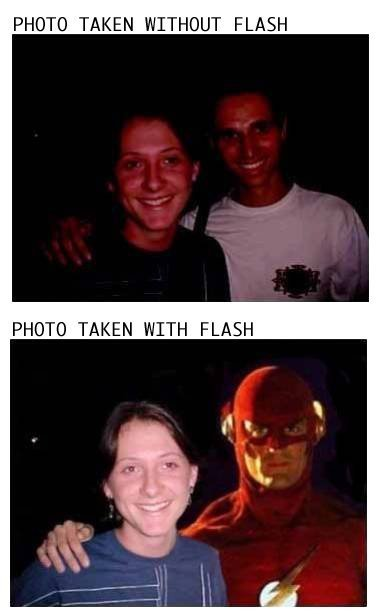 without flash