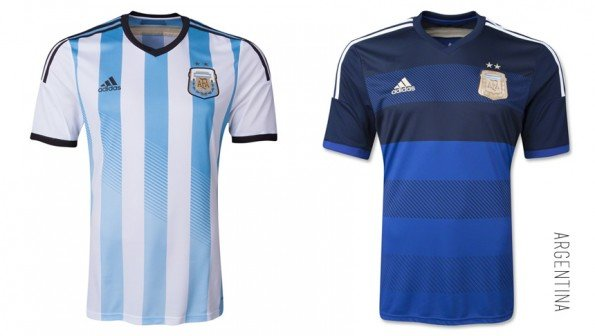 world cup jersey argentina home away kit