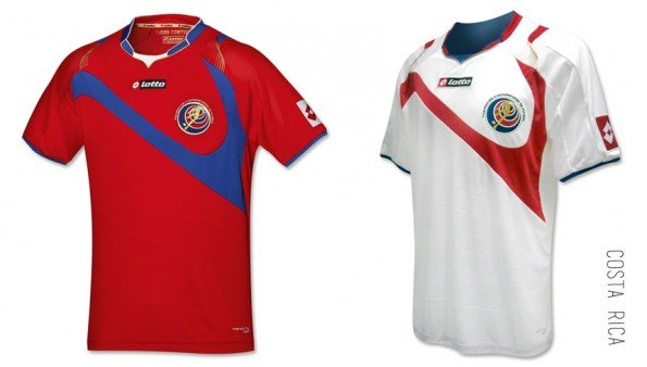 world cup jersey costa rica home away kit