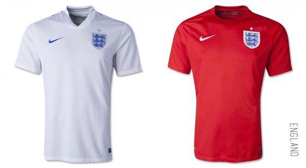 world cup jersey england home away kit