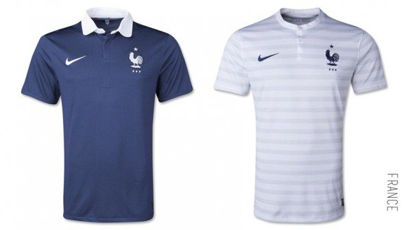 world cup jersey france home away kit