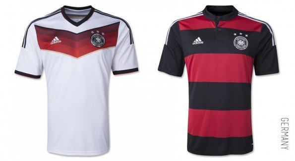 world cup jersey germany home away kit