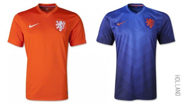 world cup jersey holland home away kit