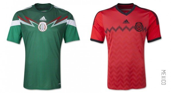 world cup jersey mexico home away kit
