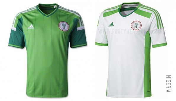 world cup jersey nigeria home away kit