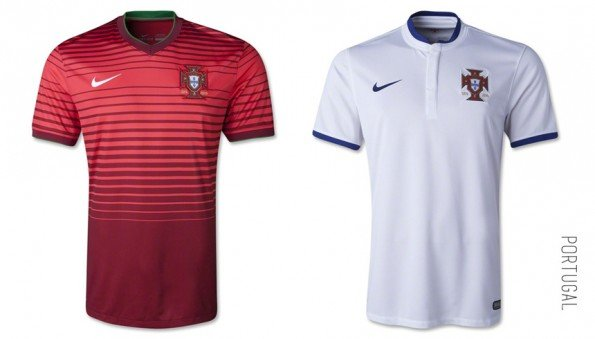 world cup jersey portugal home away kit