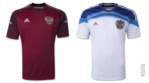 world cup jersey russia home away kit