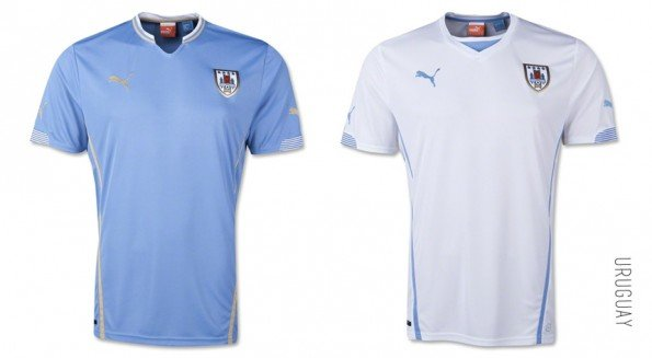 world cup jersey uruguay home away kit