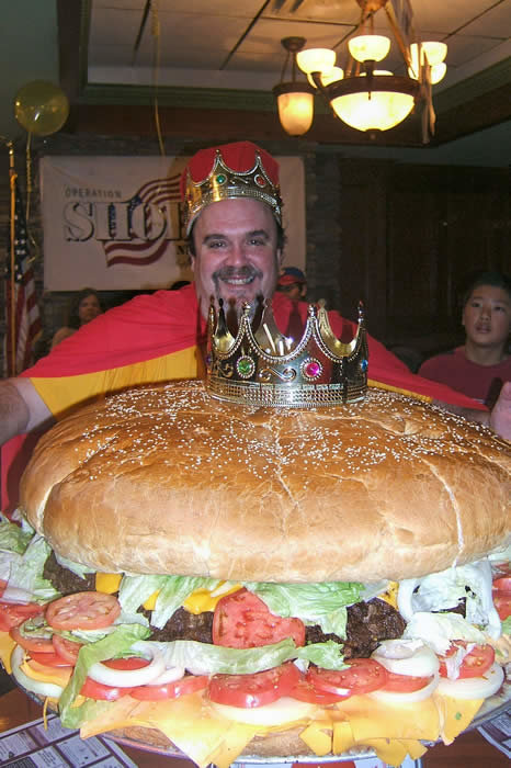 worlds biggest hamburger