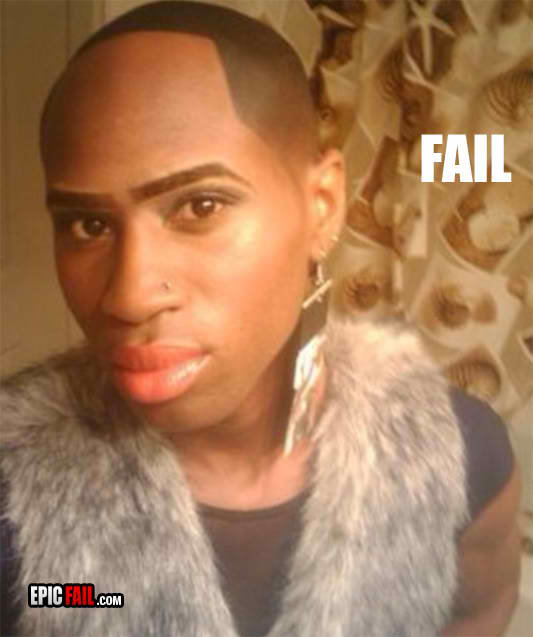 fail beautification fail gay guy