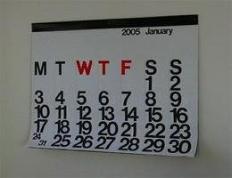 wtf calendar - have you ever noticed that?