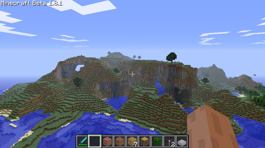 x551 z532 - the starting of minecraft seed coverage
