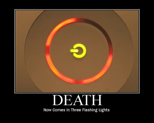 xboxdeath - help demotivational posters