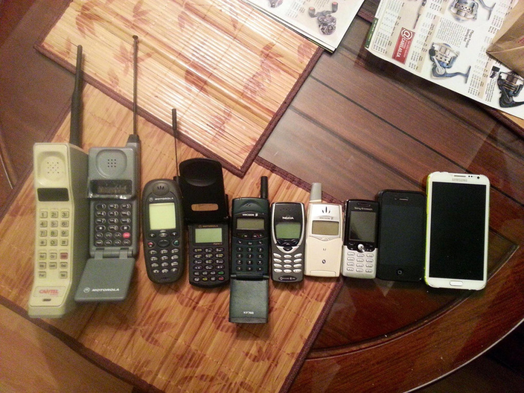 years cell phones