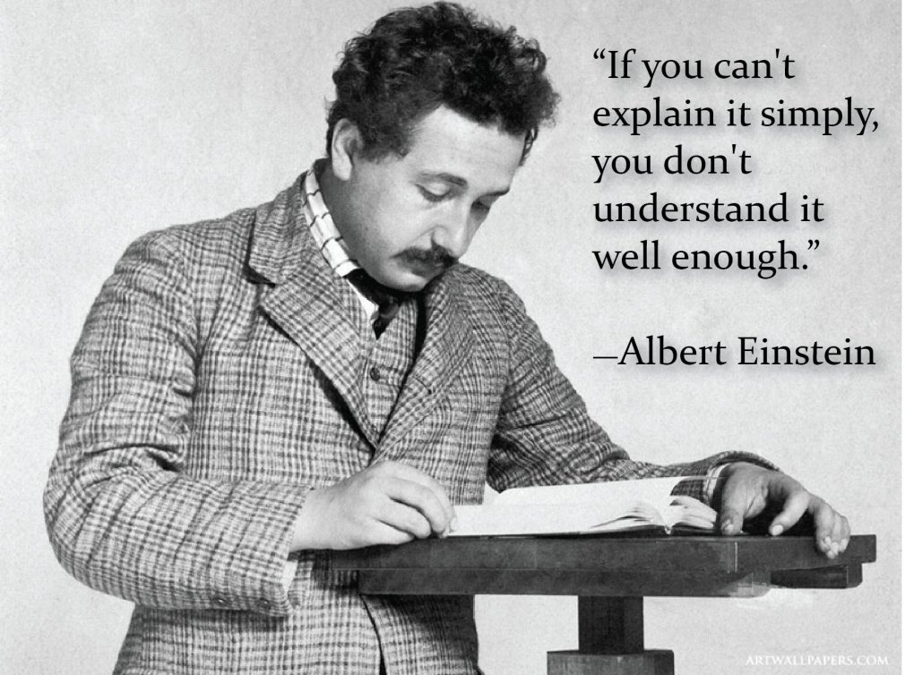 cant explain simply albert einstein