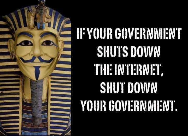 government shuts down internet shut down your government