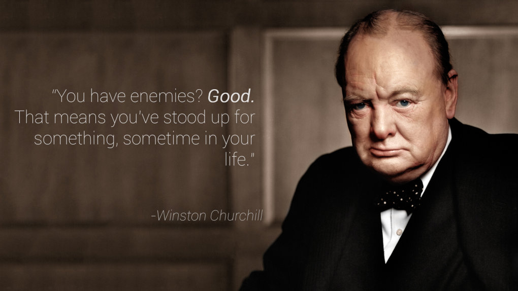 enemies good winston churchill