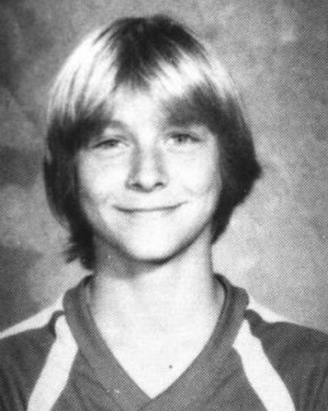 young kurt cobain
