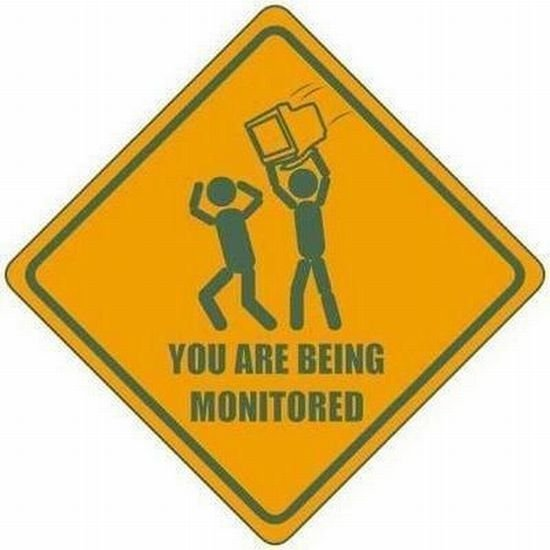 youre being monitored