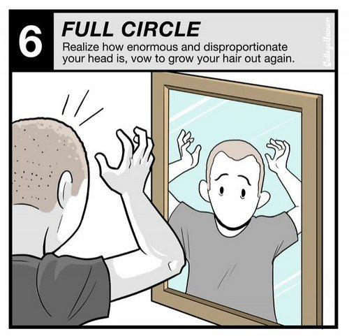 yourhair6 - the 6 stages of growing your hair out