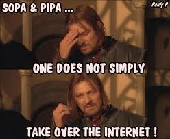 yup - one does not simply....