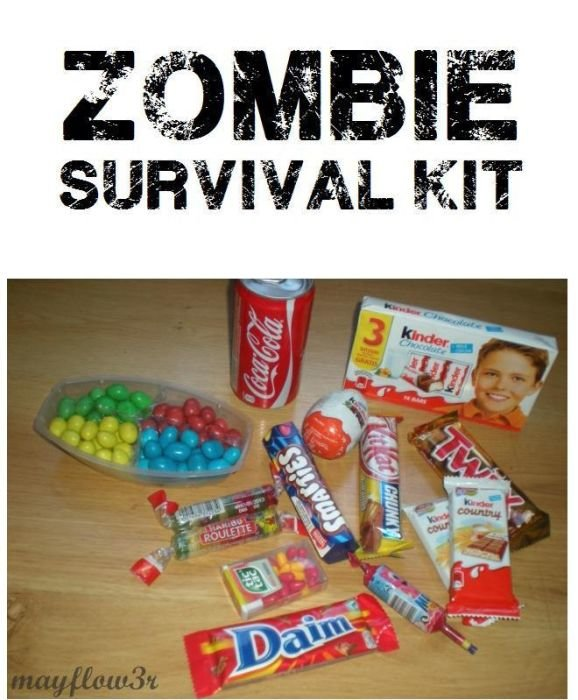 zombie 02 - zombie survival kit