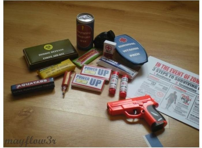 zombie 12 - zombie survival kit