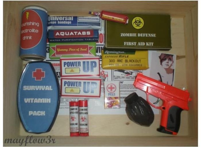 zombie 17 - zombie survival kit
