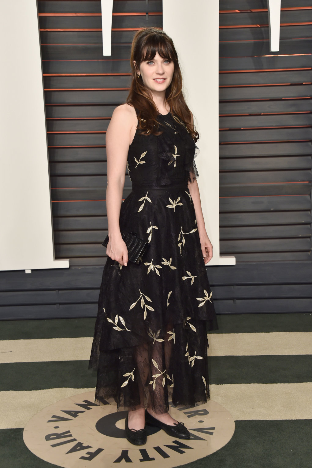 zooey deschanelvanity fair party