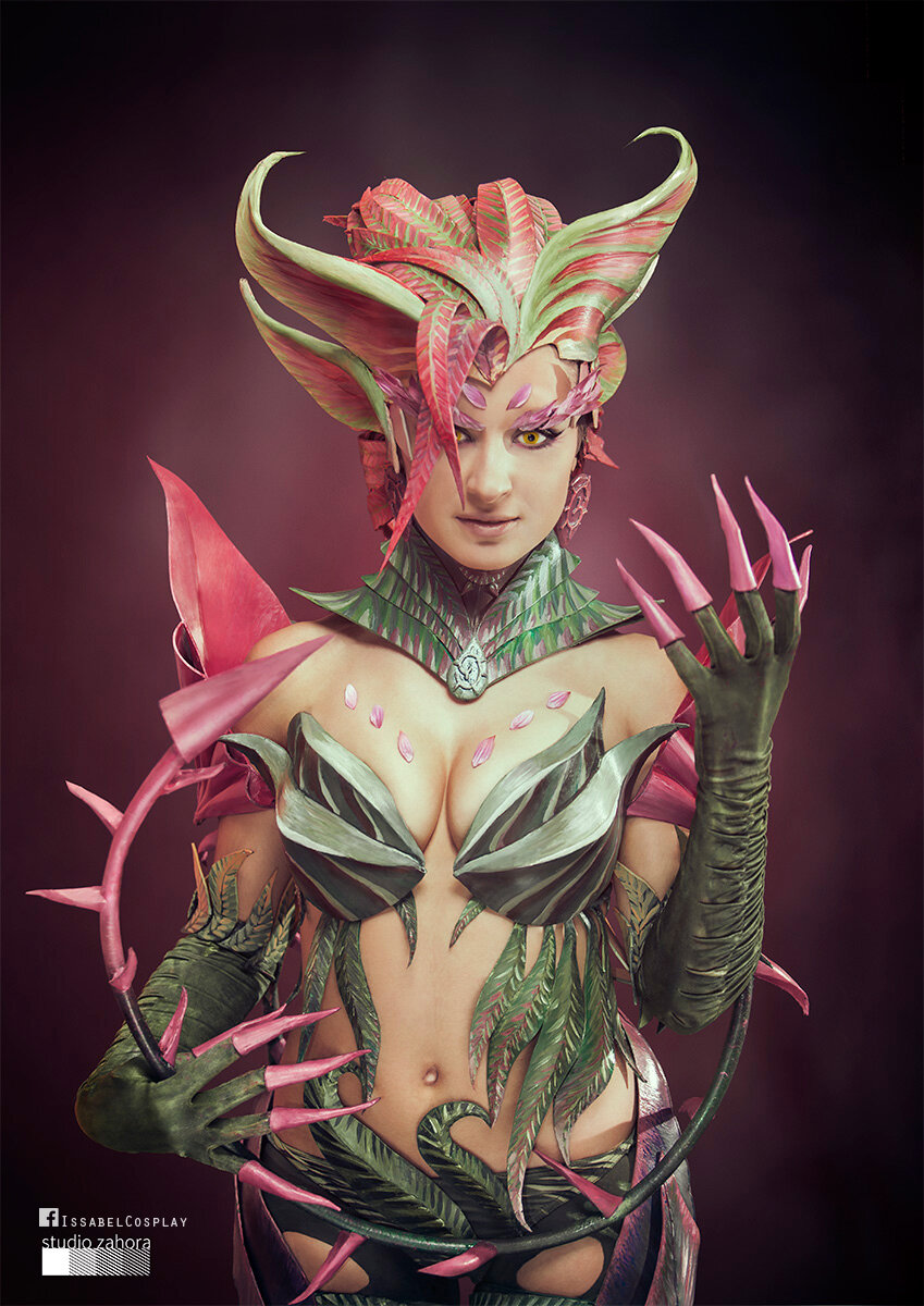zyra - sexiest league of legends cosplay girls 2014
