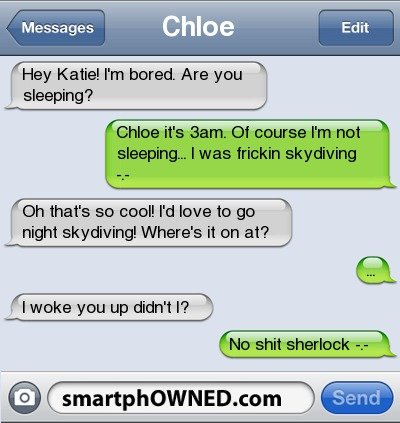 zzz - funny text messages ( part 1 )